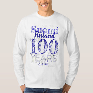 100 Years Centenary OF Finland's Indipendence day T-Shirt