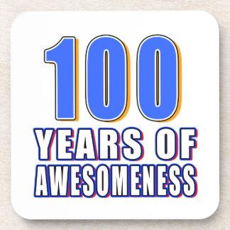 100 Years of Awesomeness Beverage Coaster