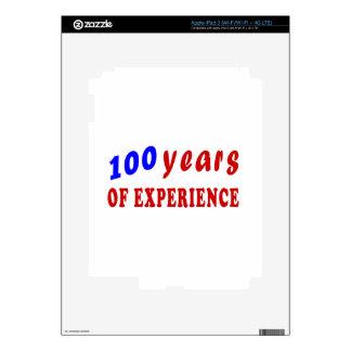 100 years of experience iPad 3 skins