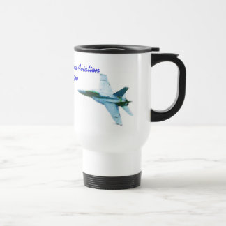 100 years of Naval Aviation Bearcat-Hornet Travel Mug