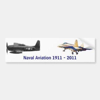 100 years of Naval Aviation Car Bumper Sticker