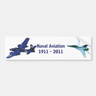 100 years of Naval Aviation Bumper Sticker
