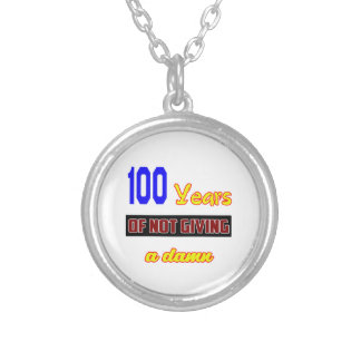 100 years of not giving a round pendant necklace