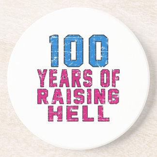 100 Years of raising hell Drink Coasters