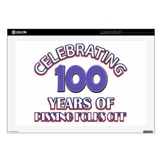 100 years of raising hell skin for laptop