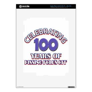 100 years of raising hell iPad 3 decal