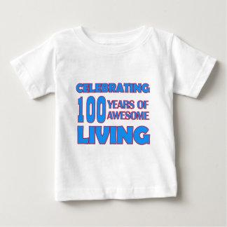 100 years old birthday designs baby T-Shirt