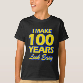 100 YEARS OLD BIRTHDAY DESIGNS T-Shirt