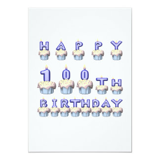 100 Years Old Card