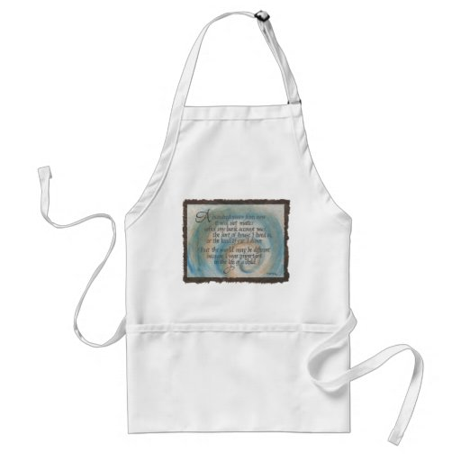 100 Years Quote Apron