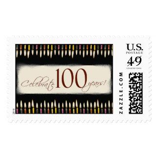 100 Years! Stamp