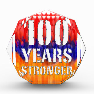 100 Years Stronger Armenian Anniversary Crystal Awards