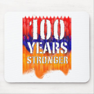 100 Years Stronger Armenian Anniversary Mouse Pad