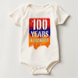 100 Years Stronger Armenian Infant Organic shirt