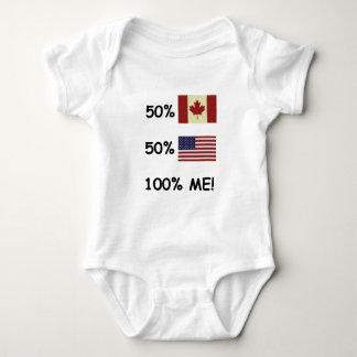 100% YO canadiense/americano Poleras
