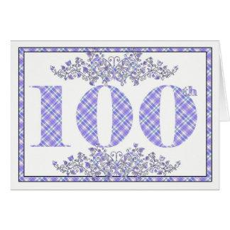 100a tarjeta feliz de la guinga del cumpleaños