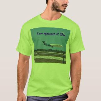 100B2520_edited, Final approach at SRQ T-Shirt