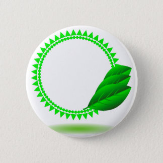 100Green Icon_rasterized Pinback Button