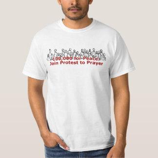 100K para la camisa de la paz