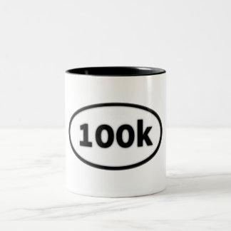 100k taza de dos tonos