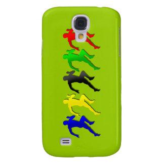 100m 200m 400m 800m Runners Running Run Samsung Galaxy S4 Case