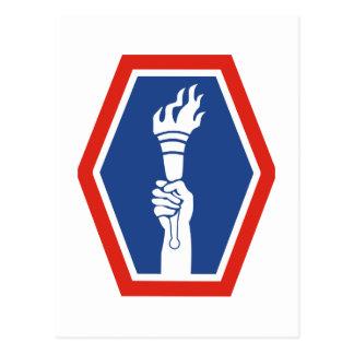 100o 442a infantería de los BN Postales