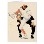 100o Aniversario del béisbol Tarjeta De Felicitación