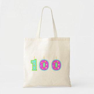 100o Cumpleaños Bolsa Tela Barata
