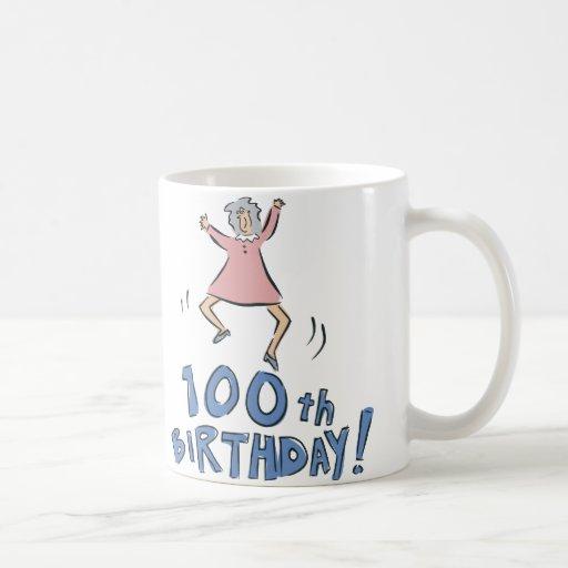 100o ¡Cumpleaños! Taza