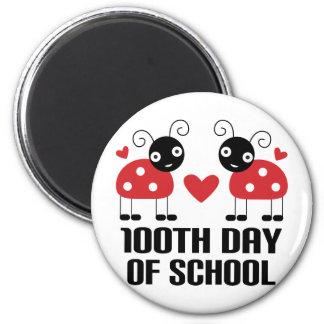 100o Día de regalo del profesor de la mariquita de Imán De Frigorífico