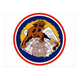 100o Escuadrón de caza Tarjeta Postal