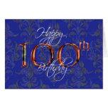 100o feliz cumpleaños felicitaciones