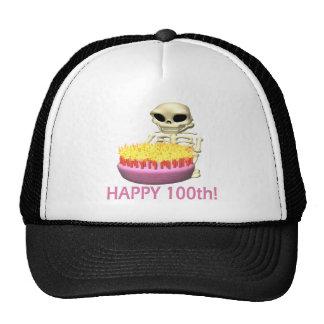 100o feliz gorras de camionero