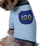 100o Insignias de la división de entrenamiento Camiseta De Perro