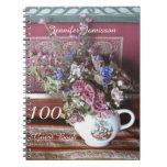 100o Libro de visitas de la fiesta de cumpleaños, Libreta