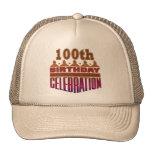 100o Regalos de la celebración del cumpleaños Gorros