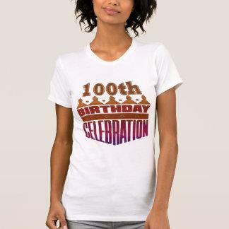 100o Regalos de la celebración del cumpleaños T-shirt