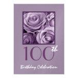 100o Rosas de la púrpura de la lila de la Anuncios