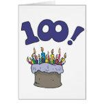 100o Torta Tarjeta