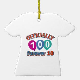 100os diseños del cumpleaños ornamento para arbol de navidad