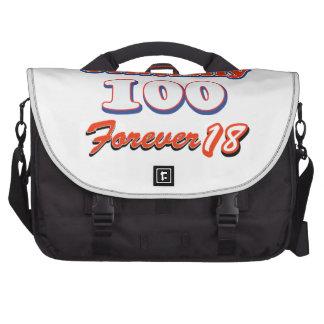 100os diseños del cumpleaños del año bolsa para ordenador