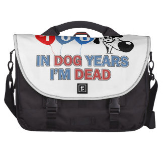 100os diseños del cumpleaños del año bolsas de portatil