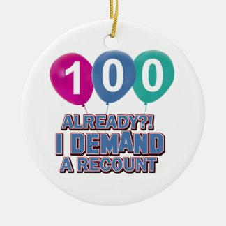100os diseños del cumpleaños del año ornato