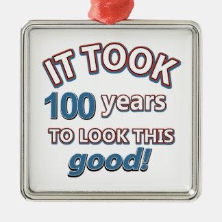 100os diseños del cumpleaños del año adorno para reyes