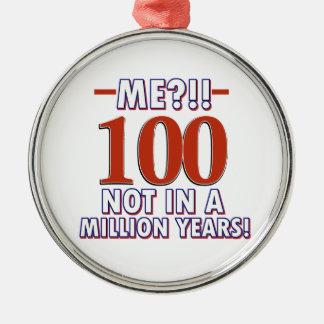 100os diseños del cumpleaños del año adornos