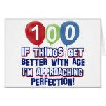 100os diseños del cumpleaños tarjetas