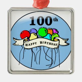 100os impulsos felices del cumpleaños ornamentos de reyes