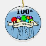 100os impulsos felices del cumpleaños ornamento para reyes magos