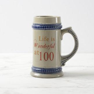 100os regalos de cumpleaños maravillosos jarra de cerveza