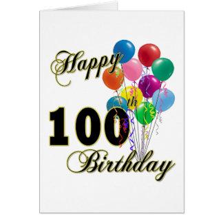 100os regalos de cumpleaños y ropa felices del cum tarjeta de felicitación